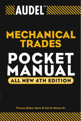 Audel Mechanical Trades Pocket Manual 9780764541704