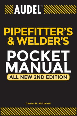 Audel Pipefitter's and Welder's Pocket Manual 9780764542053