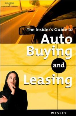 Automotive Buying and Leasing 9780766832794