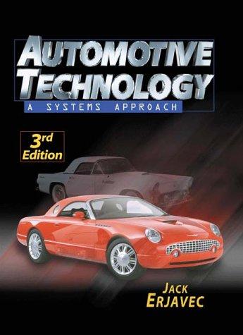 Automotive Technology: A Systems Approach 9780766806733