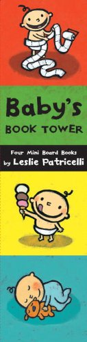 Baby's Book Tower: Four Mini Board Books 9780763650100