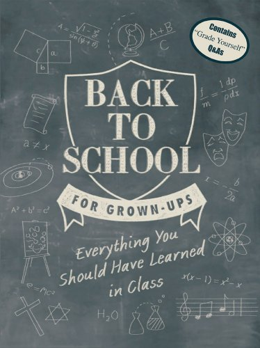 Back to School for Grown-Ups: Everything You Should Have Learned in Class 9780764162718