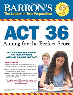 Barron's ACT 36: Aiming for the Perfect Score 9780764147050