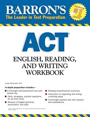Barron's ACT English, Reading, and Writing Workbook 9780764139826