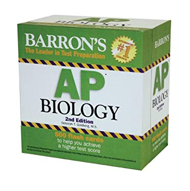 Barron's AP Biology Flash Cards 9780764162657