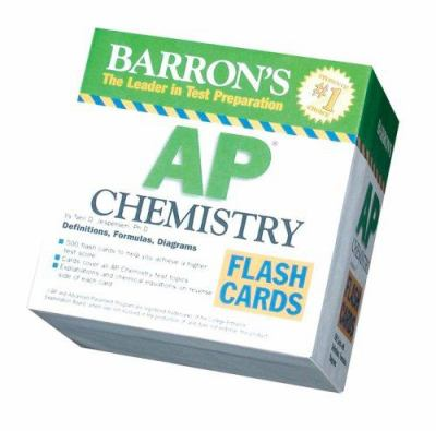 Barron's AP Chemistry Flash Cards 9780764161162