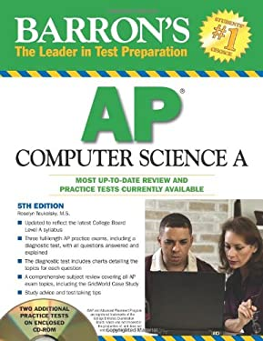 Barron's AP Computer Science A [With CDROM] 9780764197048