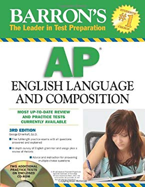 Barron's AP English Language and Composition [With CDROM] 9780764196805