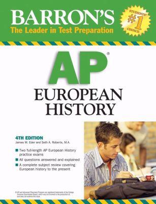 Barron's AP European History 9780764136801