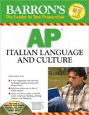 Barron's AP Italian Language and Culture [With 3 CDs] 9780764193682