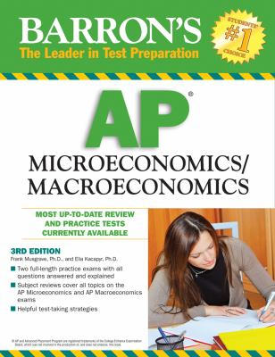 Barron's AP Microeconomics/Macroeconomics 9780764139307