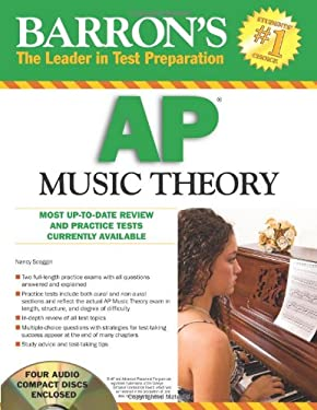 Barron's AP Music Theory [With 4 CDs] 9780764196317