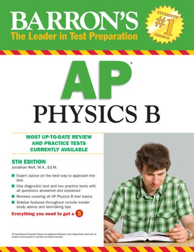 Barron's AP Physics B 9780764145681