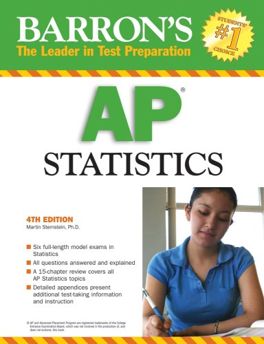 Barron's AP Statistics 9780764136832