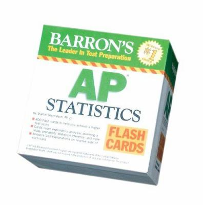 Barron's AP Statistics Flash Cards 9780764194108
