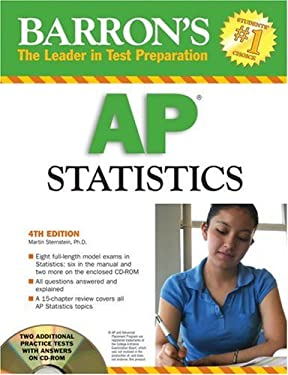 Barron's AP Statistics [With CDROM] 9780764193330