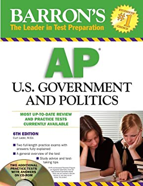 Barron's AP United States Government & Politics [With CDROM]