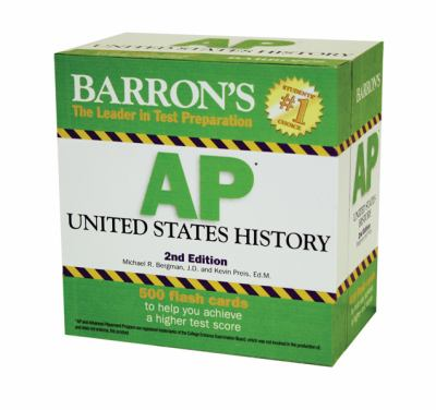 Barron's AP United States History Flash Cards 9780764162640