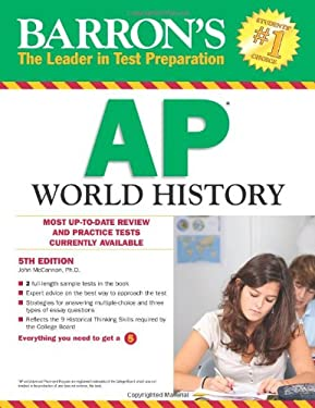 Barron's AP World History 9780764147067