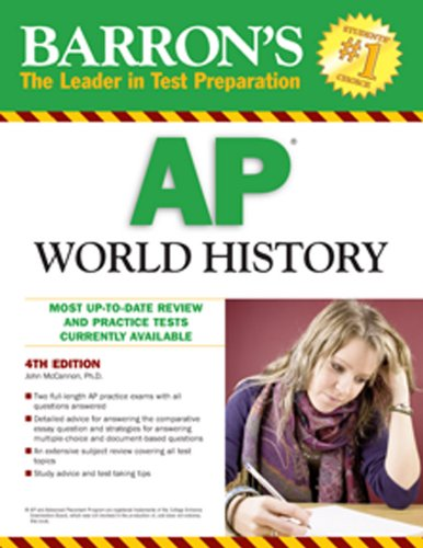 Barron's AP World History 9780764143670