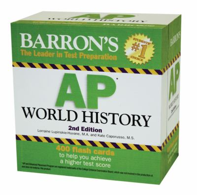 Barron's AP World History Flash Cards 9780764162633