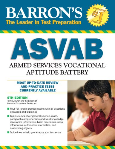 Barron's ASVAB: Armed Services Vocational Aptitude Battery 9780764140884