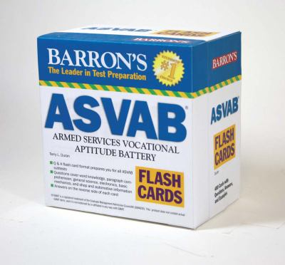 Barron's ASVAB Flash Cards: Armed Services Vocational Aptitude Battery 9780764197833