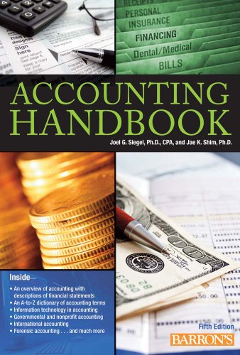 Barron's Accounting Handbook 9780764162701