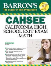 Barron's CAHSEE: Math: California High School Exit Exam