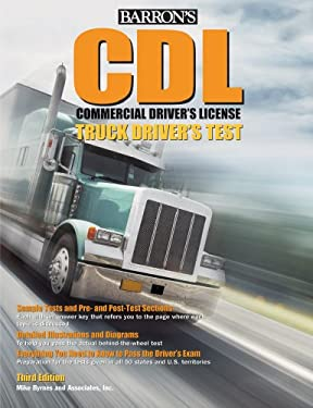 Barron's CDL Commercial Driver's License Truck Driver's Test 9780764143823