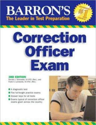 Barron's Correction Officer Exam 9780764138003