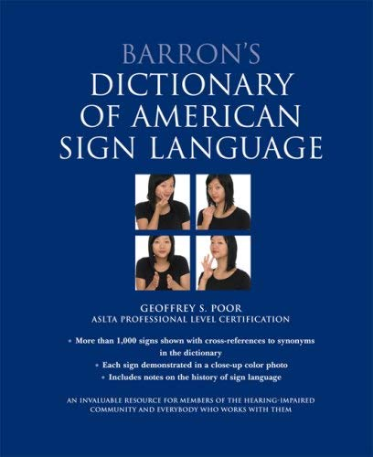 Barron's Dictionary of American Sign Language 9780764160899