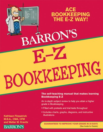 Barron's E-Z Bookkeeping 9780764141331
