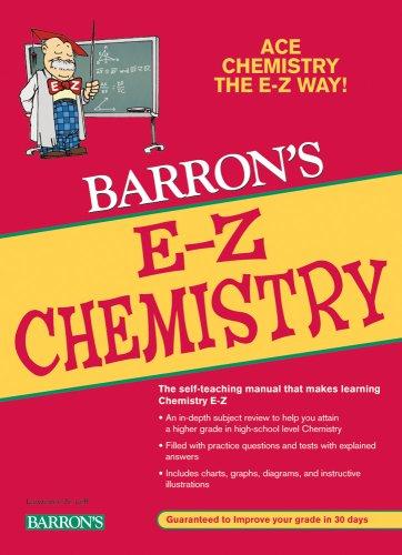 Barron's E-Z Chemistry 9780764141287