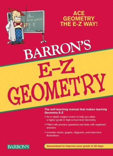 Barron's E-Z Geometry 9780764139185