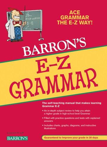 Barron's E-Z Grammar 9780764142611