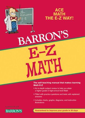 Barron's E-Z Math 9780764141324