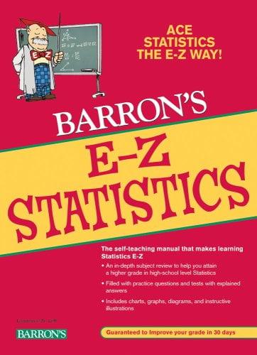 Barron's E-Z Statistics 9780764139789