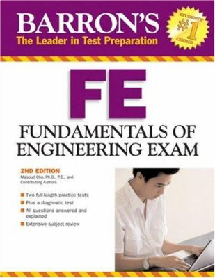 Barron's FE: Fundamentals of Engineering Exam 9780764137075