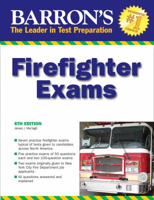 Barron's Firefighter Exams 9780764140938