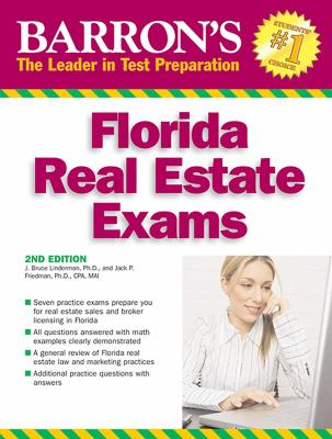 Barron's Florida Real Estate Exams 9780764138164