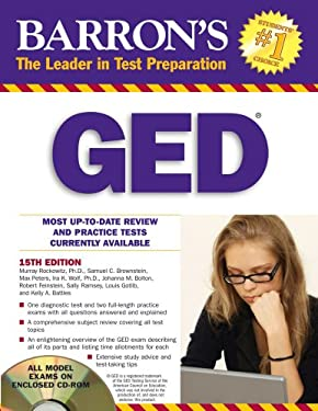 Barron's GED [With CDROM]