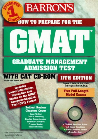 Barron's GMAT: How to Prepare for the Graduate Management Admission Test [With *] 9780764171727