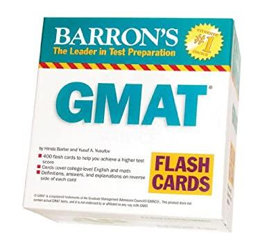 Barron's GMAT Flash Cards 9780764196898