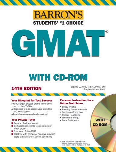 Barron's GMAT [With CDROM] 9780764179006