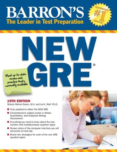 Barron's New GRE: Graduate Record Examination 9780764146169