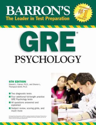 Barron's GRE Psychology 9780764140143
