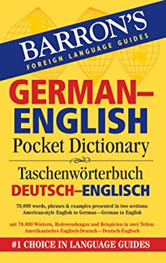 Barron's German-English Pocket Dictionary 9780764140037