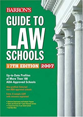 Barron's Guide to Law Schools 9780764133718