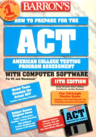 Barron's How to Prepare for the ACT [With Two 3 1/2